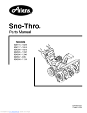 ariens sno thro 924506 1336 manuals ariens 5520 snowblower ariens 1336 snow blower parts diagram #9