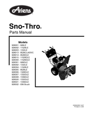"Ariens st824 8hp 24"" snowblower 