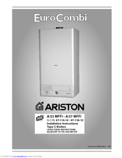 Ariston euro combi a23 mffi manuals ariston euro combi a23 mffi installation instructions manual 28 pages type c boilers asfbconference2016 Images