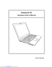 Asus A8F Hardware User Manual