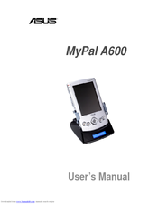 Asus MyPal A600 User Manual