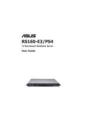 DOWNLOAD DRIVER: ASUS RS160-E4/PA4