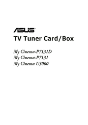 ASUS MY CINEMA-U3100MINIDVBT DRIVERS (2019)