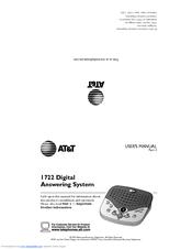 at t 1725 answering machine manual