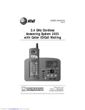 at t 2455 manuals rh manualslib com at&t phone model 2462 manual