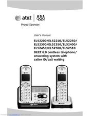 at t el52200 user manual pdf download rh manualslib com