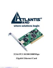Atlantis A02-PCM-W54M Drivers Download (2019)