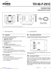 Aube Technologies TH146-P-2H1C Installation Manual