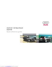 audi a3 sportback quick reference manual pdf download rh manualslib com 2013 Audi A3 2013 Audi A3