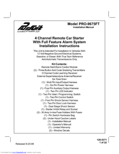audiovox pursuit pro 9675ft manuals rh manualslib com Audiovox Replacement Remote Audiovox TV