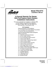 audiovox pursuit pro 9775 manuals rh manualslib com Audiovox TV Car Alarm