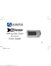 audiovox xm xpress 136 4040 manuals rh manualslib com