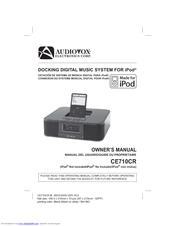 audiovox ce710cr ce clock radio manuals rh manualslib com Onn Clock Radio Manual audiovox under cabinet cd clock radio manual