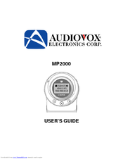 AUDIOVOX MP2000 WINDOWS 10 DOWNLOAD DRIVER