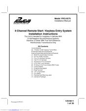 audiovox pursuit pro 9275 manuals rh manualslib com Audiovox Accessories Corporation Audiovox Car Starter