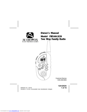 Audiovox FR548-2CH Owner's Manual