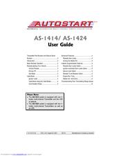 Autostart as 1424 manuals autostart as 1424 user manual publicscrutiny Choice Image