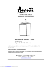 avanti bd7000 manuals rh manualslib com