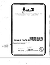 avanti 863 yw user manual pdf download rh manualslib com