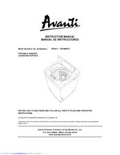 avanti portable washer w758ps 1 manuals rh manualslib com avanti ii service manual avanti grande service manual