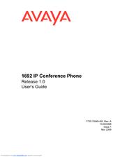avaya 1692 ip user manual pdf download rh manualslib com Avaya Phone User Guide Avaya Voicemail User Guide