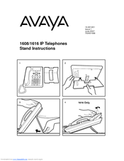 Download free pdf for avaya one-x 1608 telephone manual.
