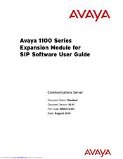 Avaya NN43110-301 Manuals