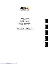 инструкция Axis 207 - фото 4