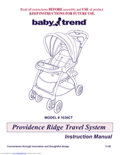 baby trend 1871ct manuals rh manualslib com baby trend stroller instruction manuals baby trend expedition manual instructions