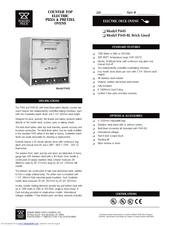 forno magnifico electric 12 pizza oven manual