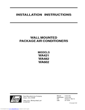 bard wa602 manuals bard wa602 installation instructions manual