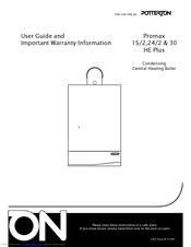 potterton promax 24 2 he plus manuals rh manualslib com