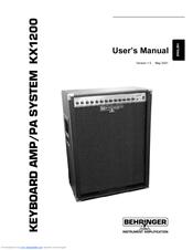 behringer kx1200 manuals. Black Bedroom Furniture Sets. Home Design Ideas