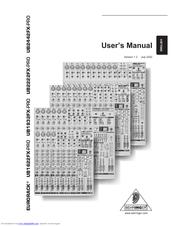 behringer eurorack ub2442fx pro manuals rh manualslib com Behringer UB2442FX Pro Mixer Mixing Board Behringer 2442 FxPro