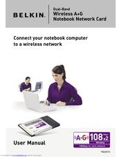 belkin f6d301 manuals rh manualslib com HP Mini Notebook Manual Samsung Chrome Notebook Manual