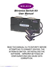 Belkin F1U128 Bitronics Autoswitches Descargar Controlador