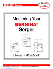 Bernina 1100D Owner's Workbook