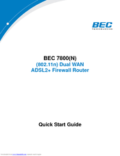 DRIVERS FOR BEC 5102 ADSL MODEM
