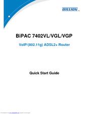 Billion BiPAC 7402VGL Drivers Windows 7