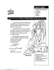 Bissell Powersteamer 1696 Manuals