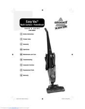 bissell easy vac 3108 series manuals rh manualslib com Bissell Easy Vac Model 3130 bissell easy vac lightweight bagless vacuum manual