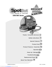 Bissell Spotbot 1200 series User Manual