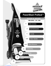 bissell 1698 series user manual pdf downloadBissell 1698 Powersteamer Pro Upright Deep Cleaner Parts Usa Vacuum #16