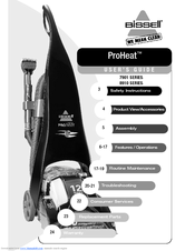 Bissell ProHeat Pro-Tech 8910 SERIES User Manual