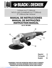Black & Decker Linea Pro WP1500K Instruction Manual