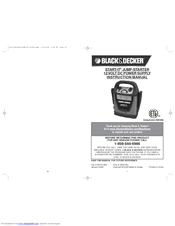 Black & Decker START-IT VEC013BD Instruction Manual