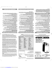 Black and decker coffee maker grinder manual free wiring diagram.