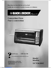 Black & Decker CTO6305C Use And Care Book Manual