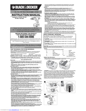 Black & Decker PS1440 Instruction Manual
