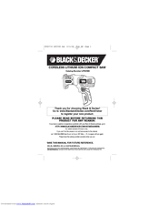 Black & Decker LPS7000 Instruction Manual